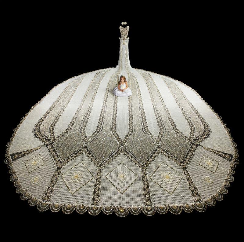 Robe perles 5