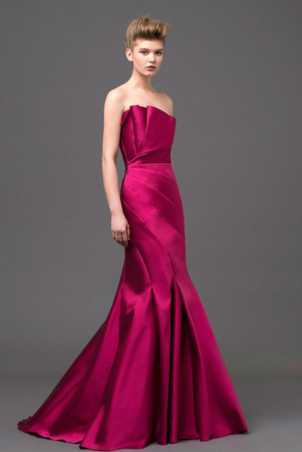 Robes-mariees-colorees-2-Alberta Ferretti-Cassiopea red