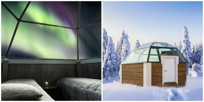 artic glass igloo hotel montage 1 lune de miel