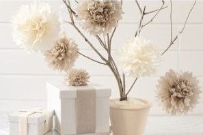 diy comment cr er des boules de fleurs. Black Bedroom Furniture Sets. Home Design Ideas