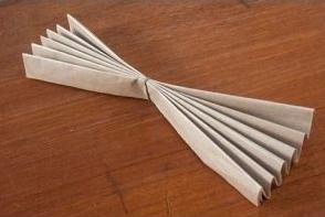 boules de neige papier etape deux