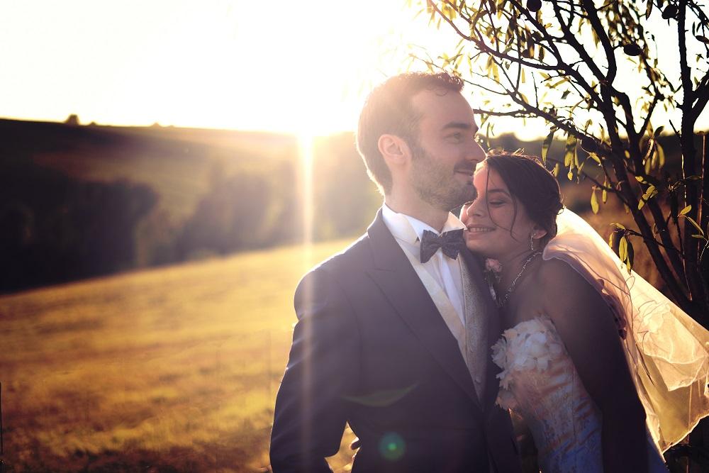 Le mariage rose poudré de Stéphanie et Jérôme