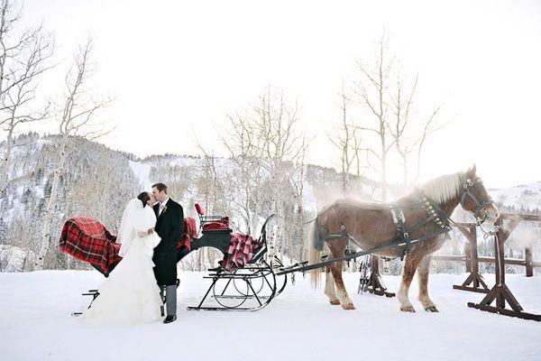 Ma décoration de mariage passe à l'heure d'hiver