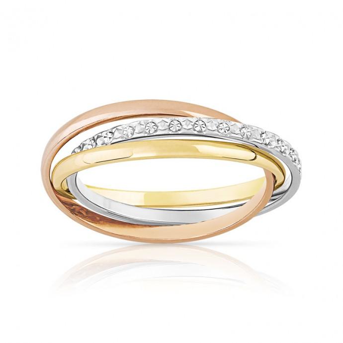 La marque Maty propose une alliance construite sur trois anneaux ...