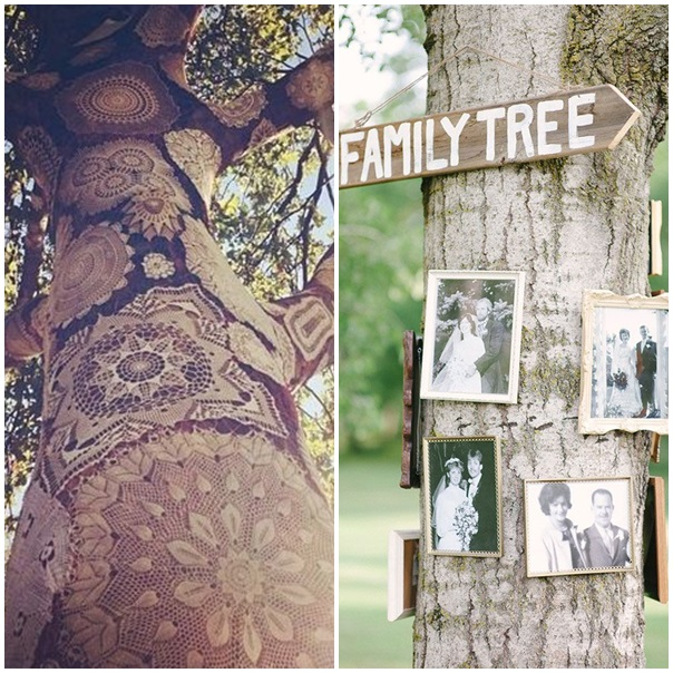 Promenonsnous dans les bois pour trouver de la décoration