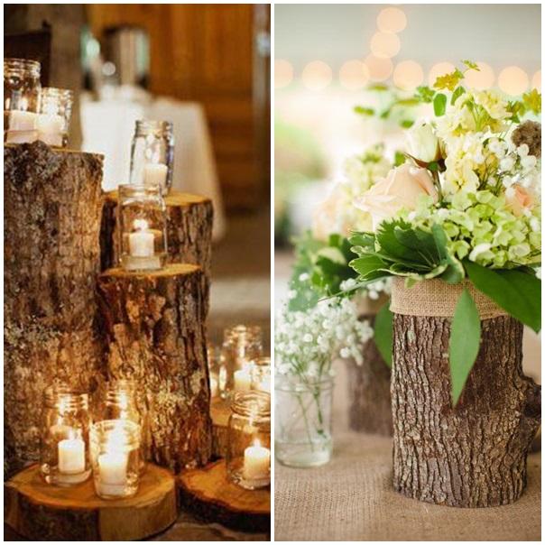 promenons nous dans les bois pour trouver de la d coration de mariage. Black Bedroom Furniture Sets. Home Design Ideas