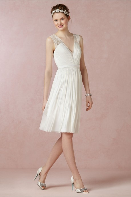 Robes blanches mariage civil