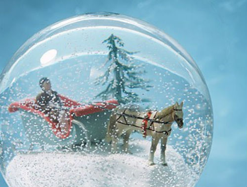 DIY : des boules à neige pour une décoration hivernale