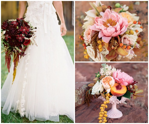 Mariage Pantone bouquet mariee