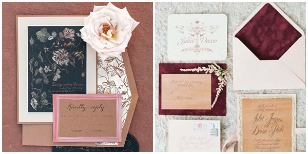 Mariage Pantone invitations