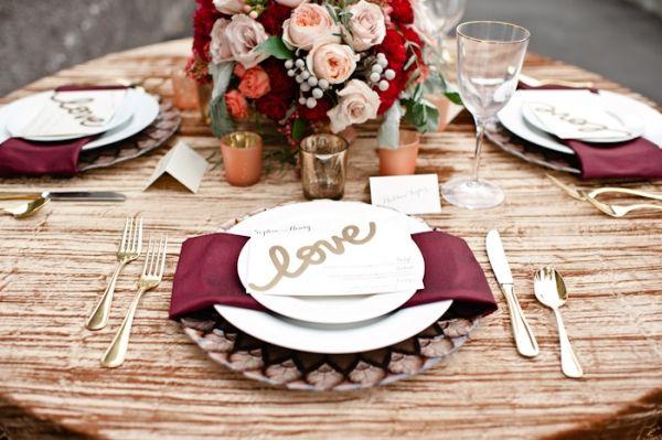 Mariage Pantone table 3