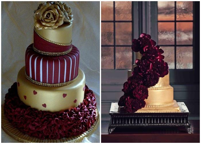 Mariage Pantone wedding cake 2