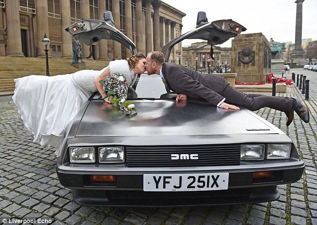 Mariage Retour vers le futur 3