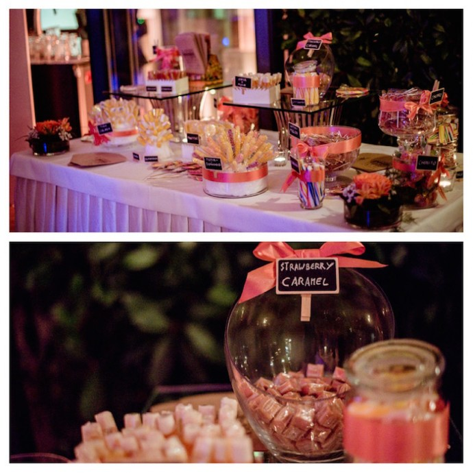 Nicky Nick Palace de Montreux candy bar sweet table