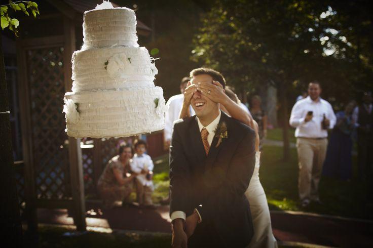 Pinata gateau de mariage