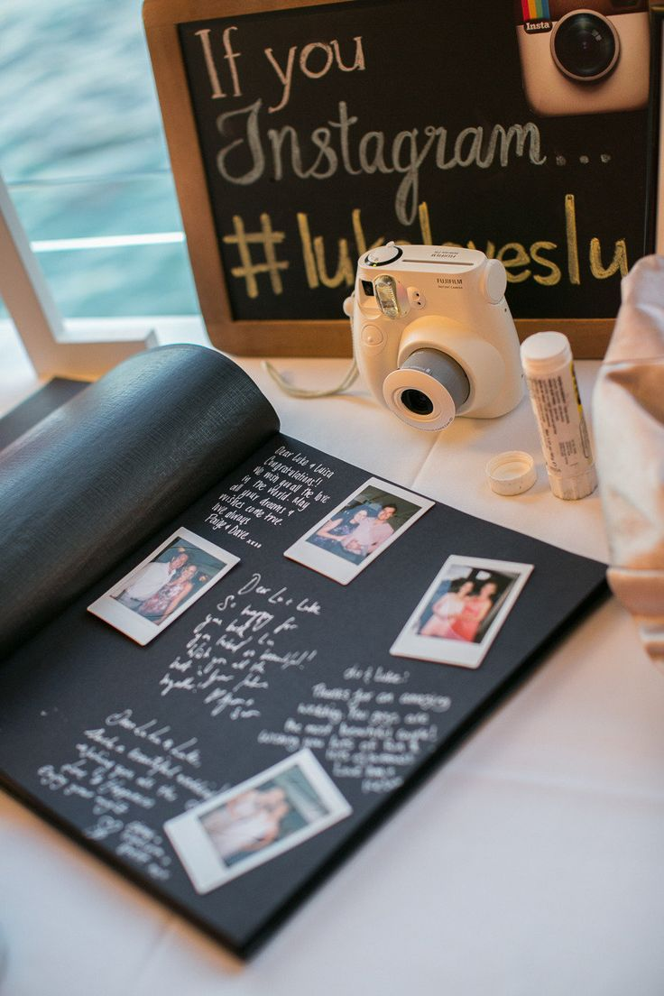 Polaroid livre d'or