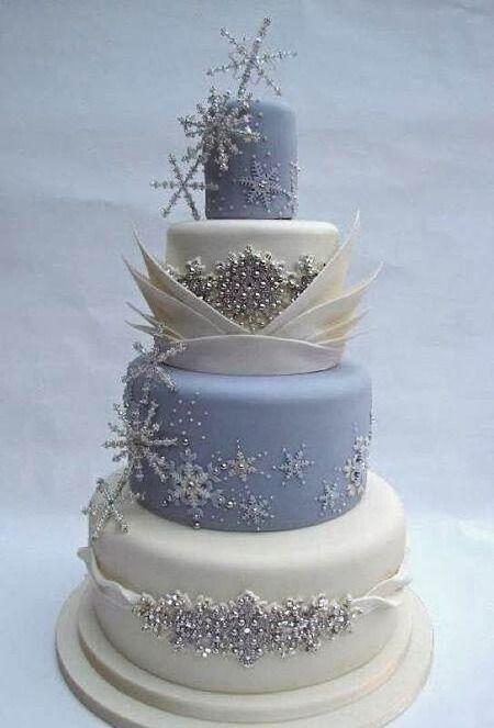 Wedding cake hiver 3