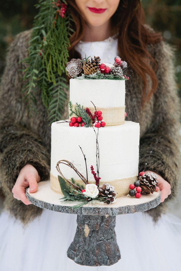 Wedding cake hiver 4