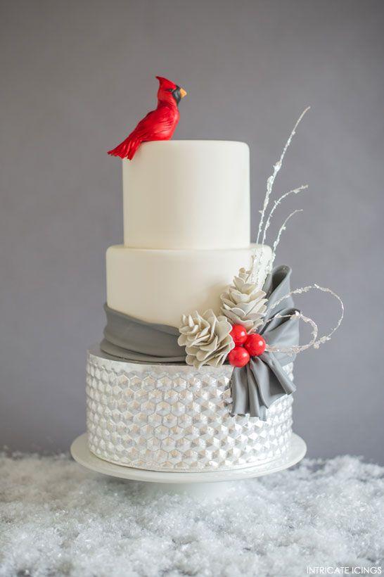 Modern Xmas Cake Designs : 8 delicieux gateaux de mariage pour une reception ...