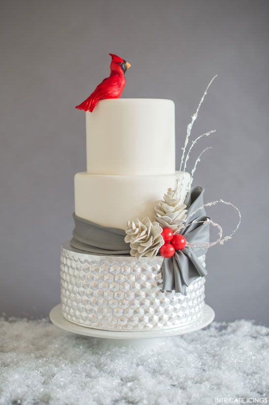 Wedding cake hiver 8