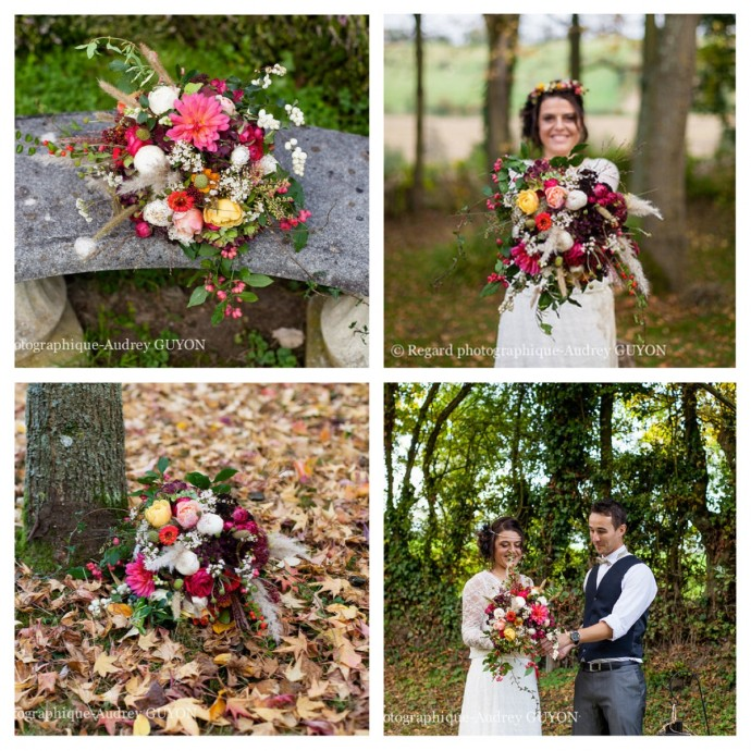 bouquet de la mariee couleur inspiration automne