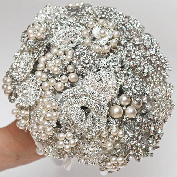 bouquet en bijou