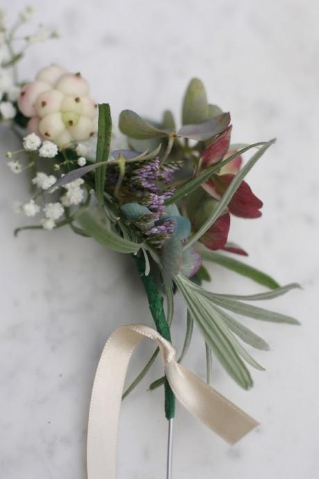 diy mariage headband fleurs ruban