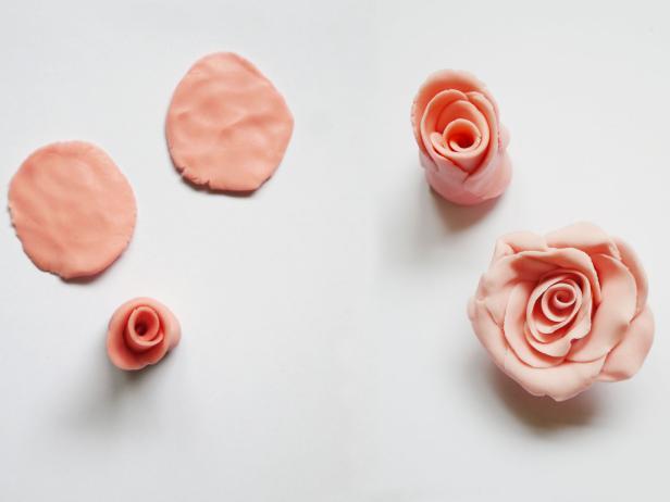 diy petales de rose gateau a etages enterrement de vie de jeune fille