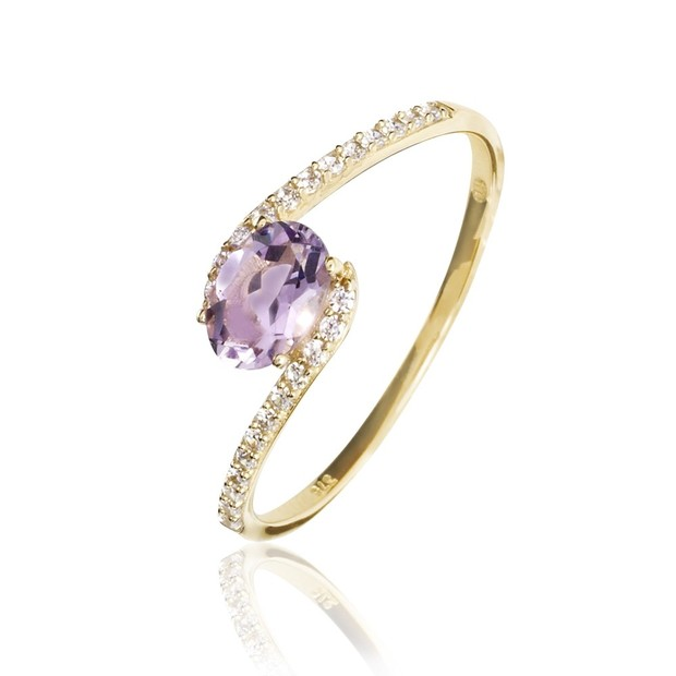 histoire d'or amethyste