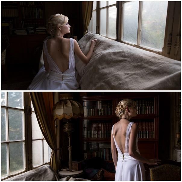 inspiration boheme mariee robe