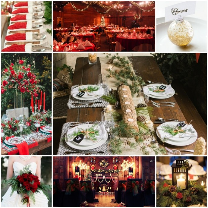 inspiration mariage a noel