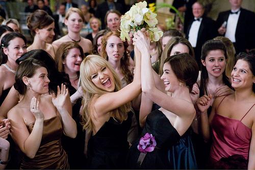 lancer bouquet de mariee mariage
