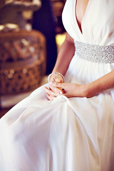 mariage ceinture strass 1