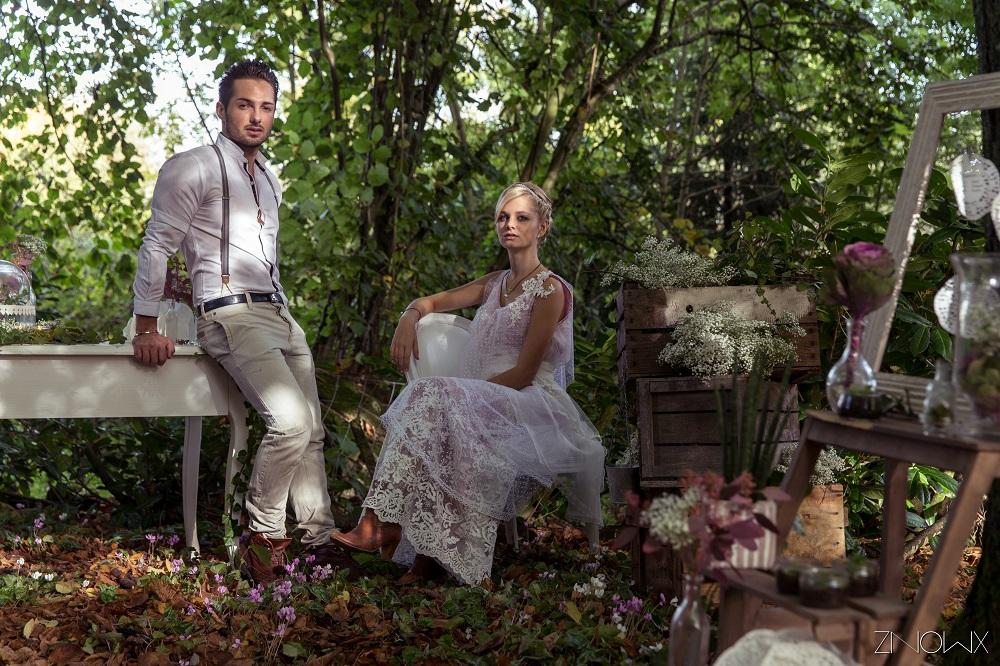 Mon mariage inspiration boh me et romantique - Costume homme mariage champetre ...