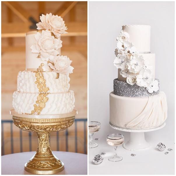 Wedding Cake Blanc Dor Ef Bf Bd