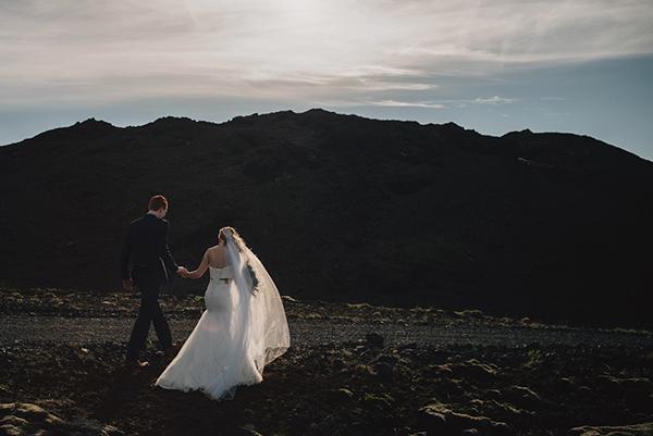 mariage sarah josh islande couple maries shooting photo