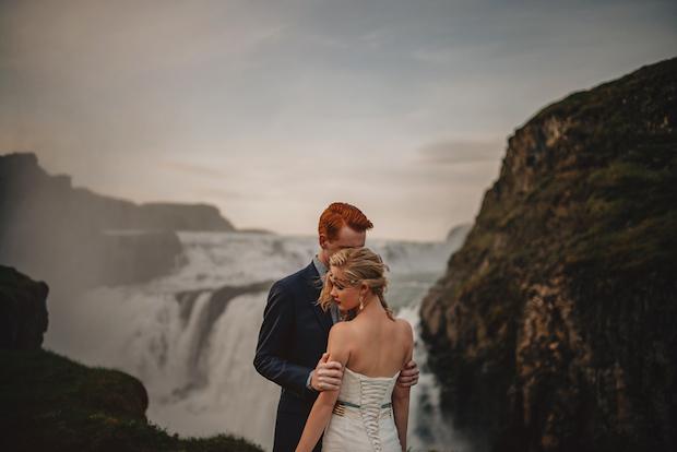 mariage sarah josh islande couple