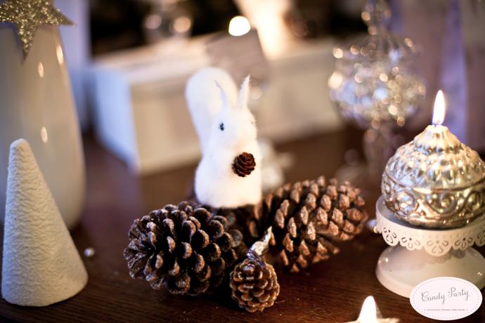 sweet table decoration noel
