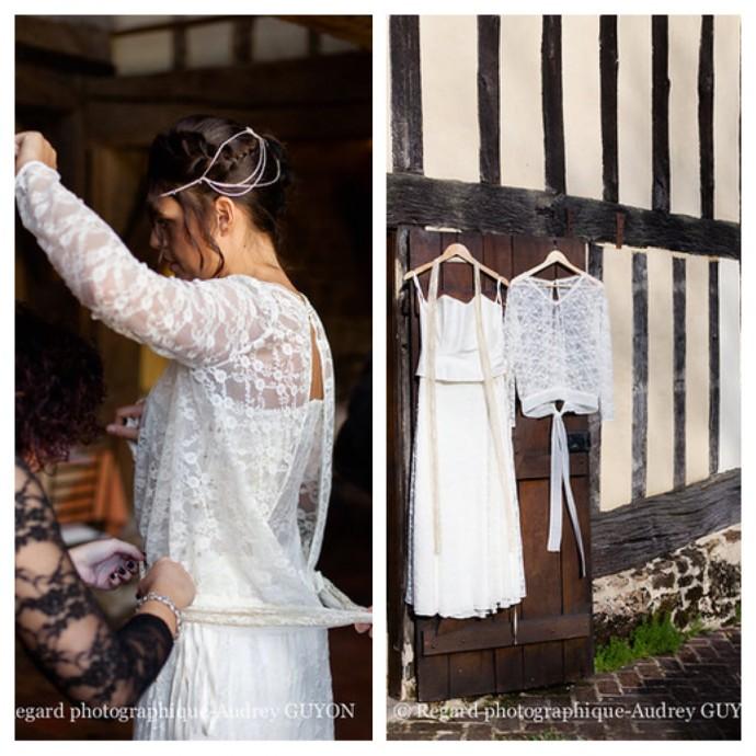 tenue de la mariee inspiration automne