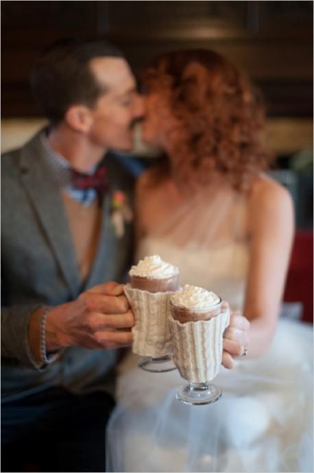 wedding chicks sweet table chocolat chaud