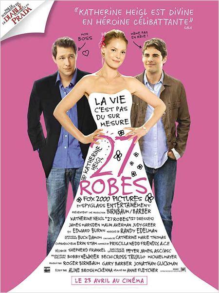 Réalisé par Anne Fletcher, 2008 / Acteurs principaux : Katherine Heigl, Edward Burns, James Marsden…
