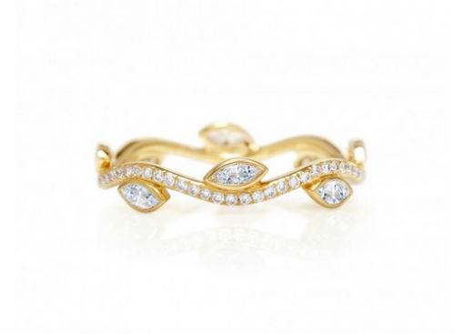 Alliance Mariage Originale Alliance Femme Or Jaune Diamant Pictures to ...