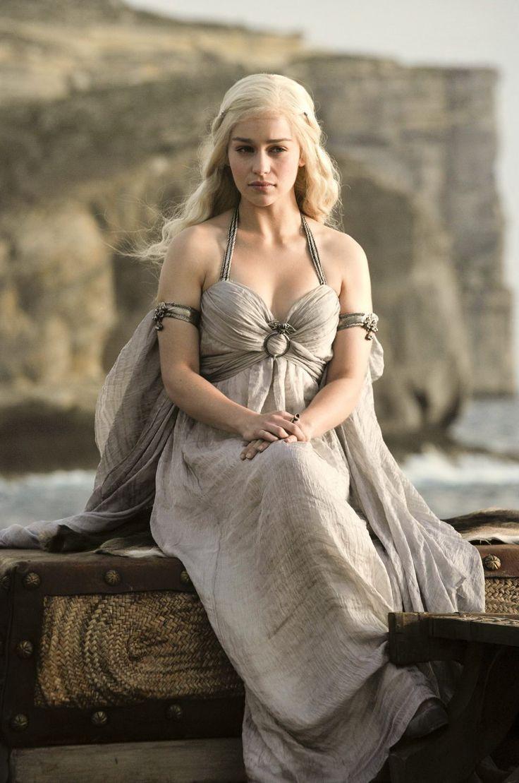 La magnifique Daenerys lors de son mariage avec le mâle par excellence, Drogo. Game of Thrones.