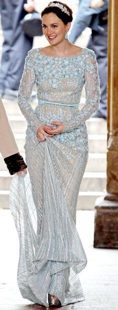 Blair était plus que ravissante pour son mariage. Elle porte une robe Elie Saab. Gossip Girl, saison 6.