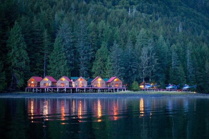 Great Bear Lodge hotel lune de miel canada
