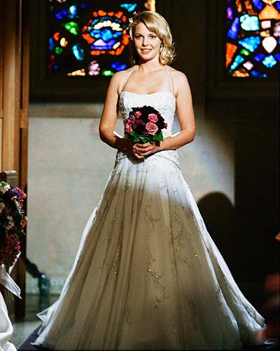 Elle s'est en allée mais la série nous a tout de même offert son mariage sur petit écran. Izzie, Grey's Anatomy, saison 5.