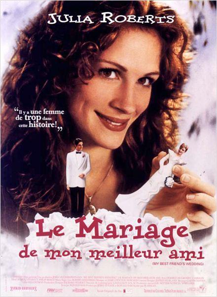 Réalisé par P.J. Hogan, 1997 / Acteurs principaux : Julia Roberts, Dermot Mulroney, Cameron Diaz…