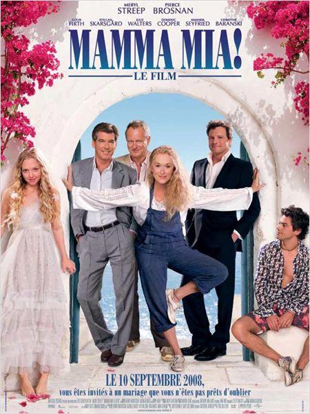 Réalisé par Phyllida Lloyd, 2008 / Acteurs principaux : Meryl Streep, Amanda Seyfried, Pierce Brosnan, Colin Firth…