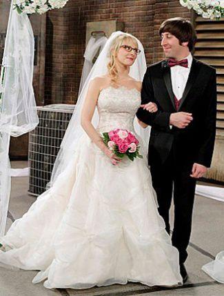 Bernadette et Howard, The Big Bang Theory, saison 5.