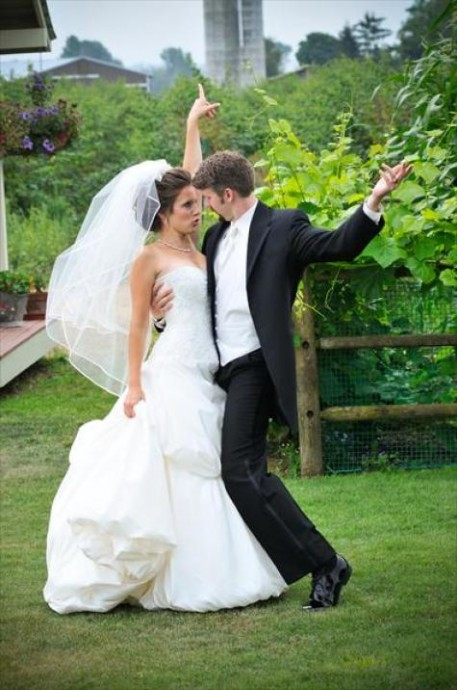 andrew melissa fou rire mariage